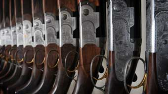 Trulock and Harris gunsmiths Browning Beretta Miroku shotguns rifles airguns Suffolk